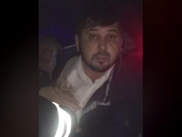 Пьяный священник за рулем был задержан в Сургуте