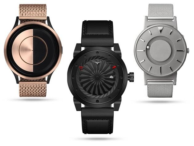 Самые необычные наручные часы в мире