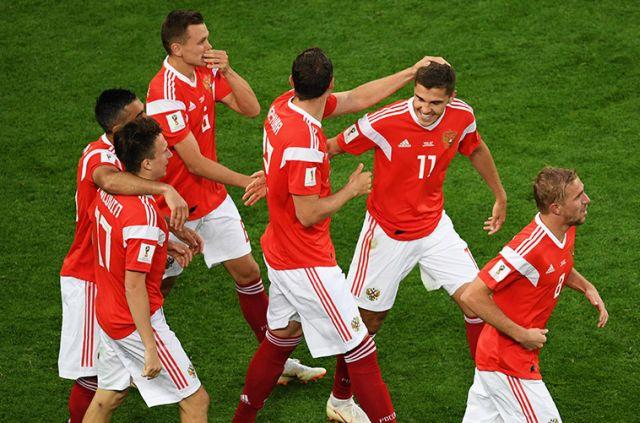 Россия - Египет. Победа со счетом 3:1