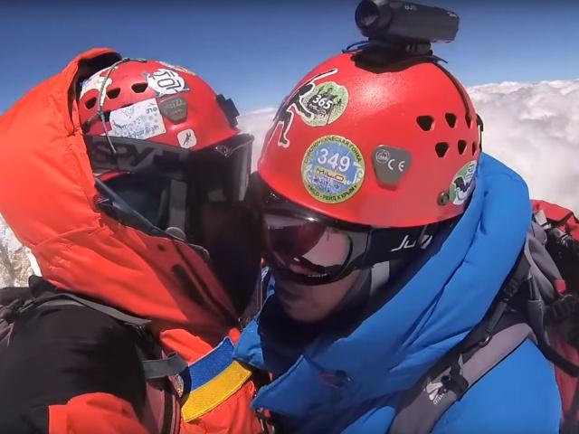Видеоблог о восхождении на гору Монблан (2 видео)