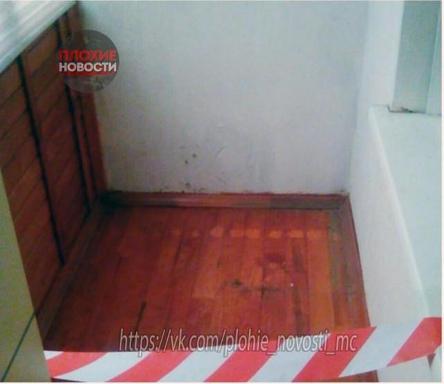 Бывший супруг потребовал оградить его жилплощадь в квартире пограничными лентами (9 фото)