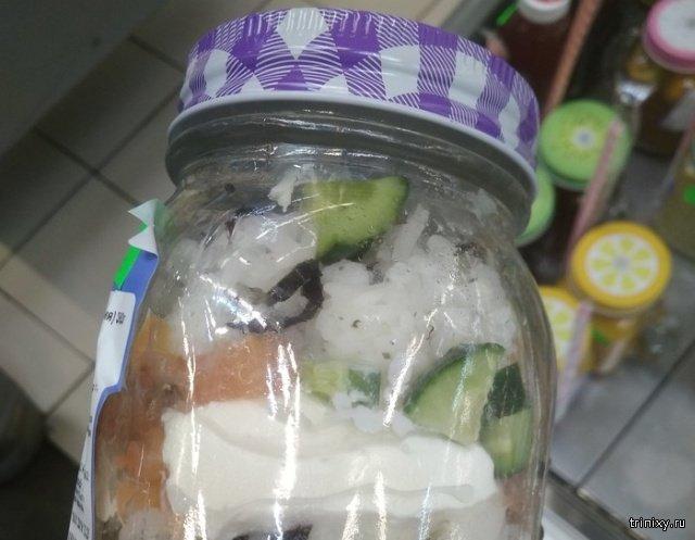 Салат из суши? Это как? (2 фото)