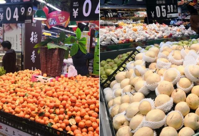 Какие фрукты можно купить в супермаркетах Китая, и сколько они там стоят (12 фото)