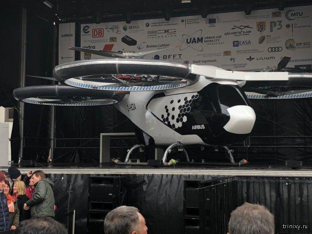 Airbus приступит к испытаниям аэротакси CityAirbus в Германии (9 фото)