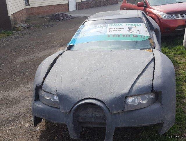 Bugatti из Краснодара (3 фото)