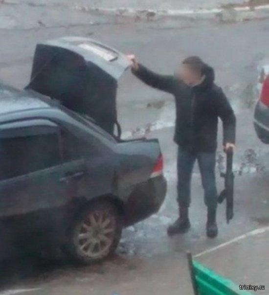 Бдительная жительница Брянска (3 фото)
