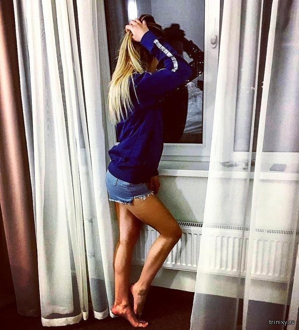 "Сотрудница МВД Анастасия Липатова взяла ученический отпуск и отправилась на ""Дом-2"" (7 фото)"