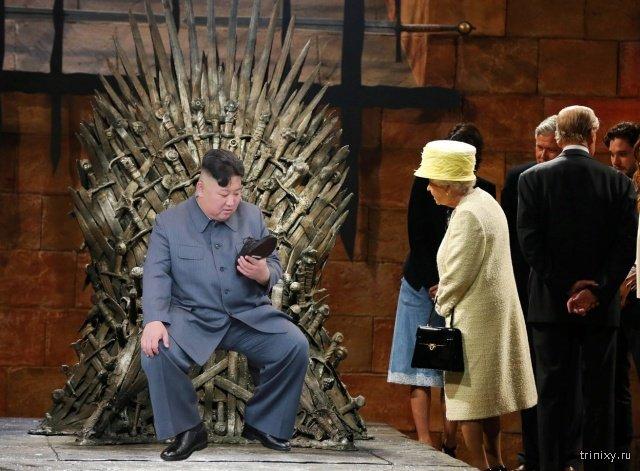 Фотожабы: Ким Чен Ын и ботинок (20 фото)