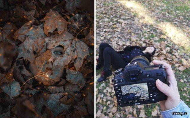 У каждого гламурного фото есть своя обратная сторона (28 фото)