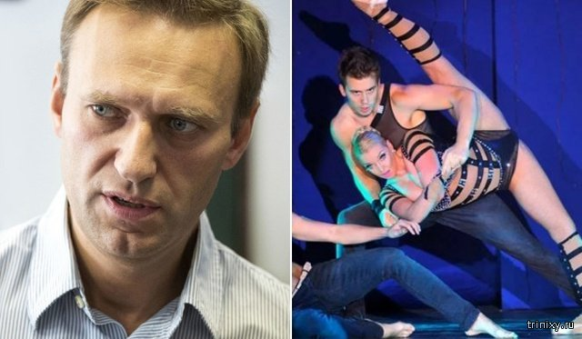 Анастасия Волочкова вызвала Алексея Навального на шпагатную дуэль (2 фото)