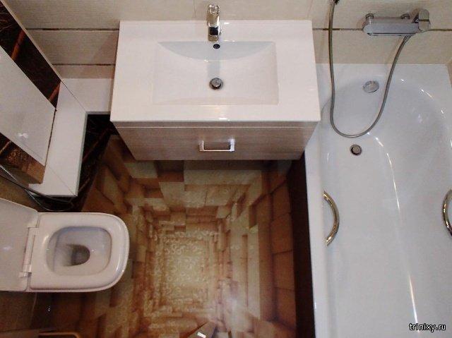 Необычный дизайн квартиры (5 фото)