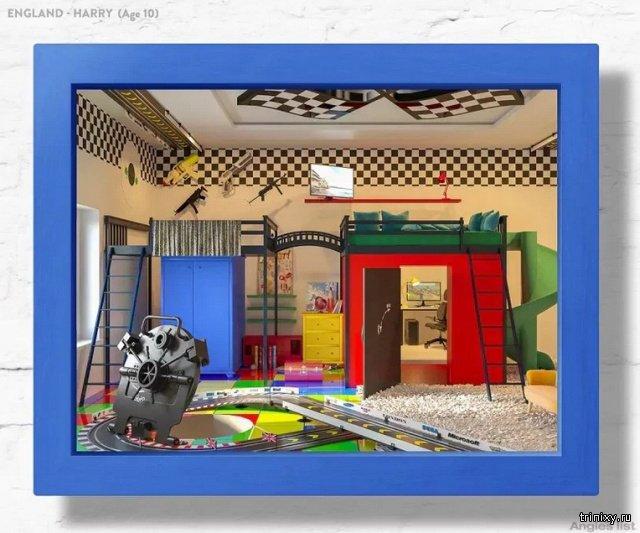 Детская комната мечты (14 фото)