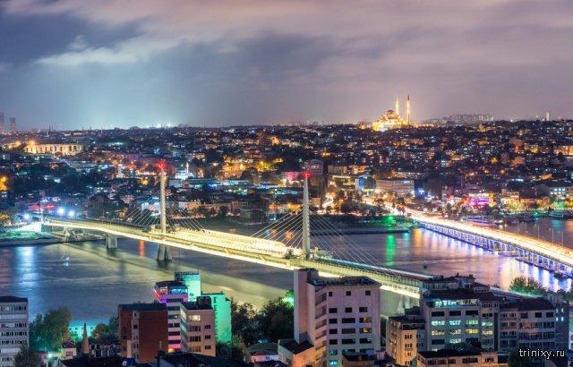Как с годами изменились крупные города мира (28 фото)