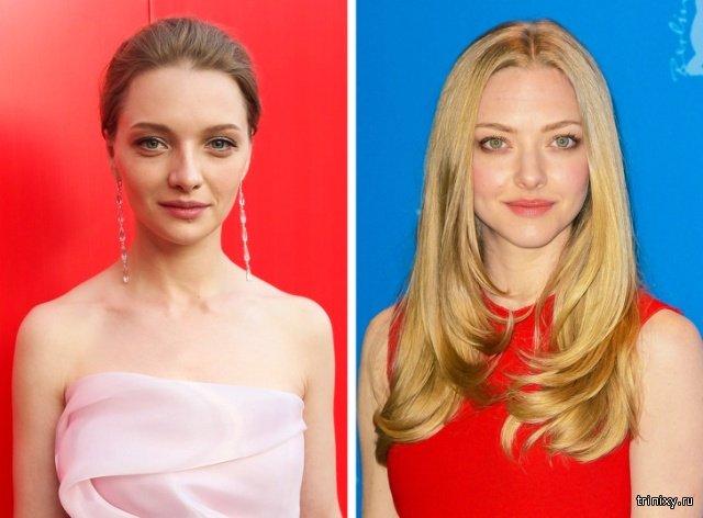 Российские и голливудские знаменитости, которые похожи, как близкие родственники (14 фото)