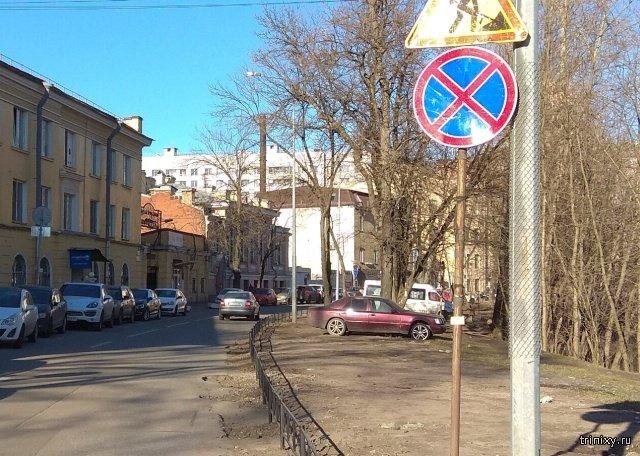 Заграждение для газона в Санкт-Петербурге (2 фото)