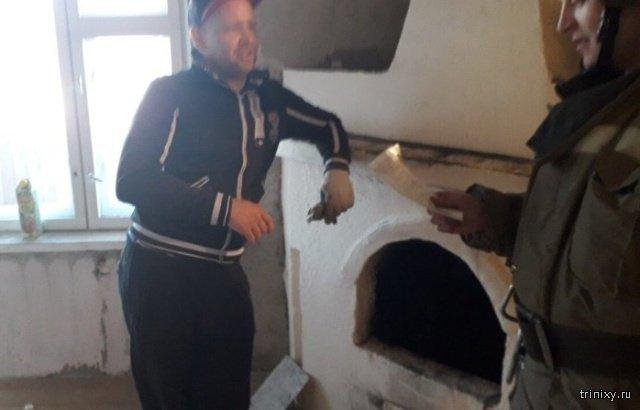 Русская печь в обычной квартире? Без проблем! (2 фото)