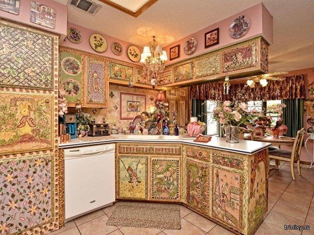Очень странный дом, который выставили на продажу в Техасе (10 фото)