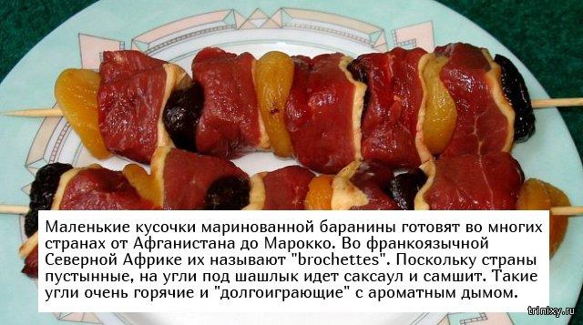 Интересные факты о шашлыке (7 фото)