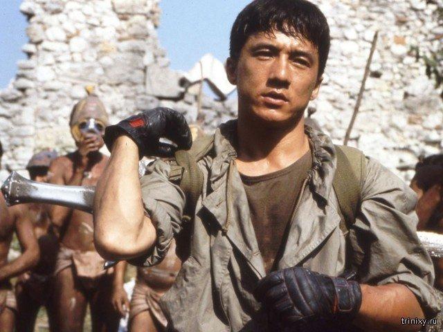 Как с годами менялся Джеки Чан (12 фото)