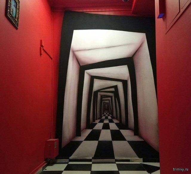 Главное - в стену не войти (3 фото)