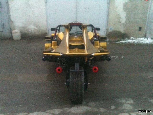 Житель Челябинска сделал спорттрайк по фотографиям из интернета (10 фото)