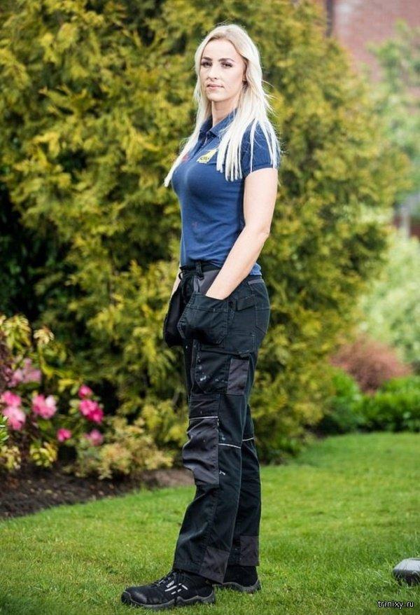 Красавица-сантехник из Великобритании (14 фото)