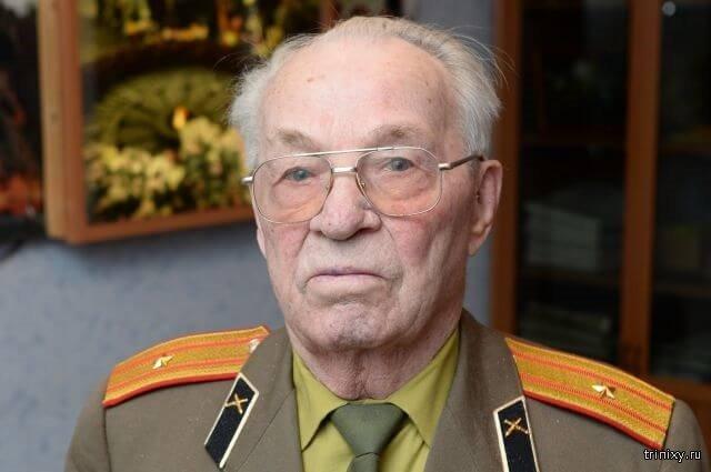Петр Арышев, ветеран Великой Отечественной войны, 94 года