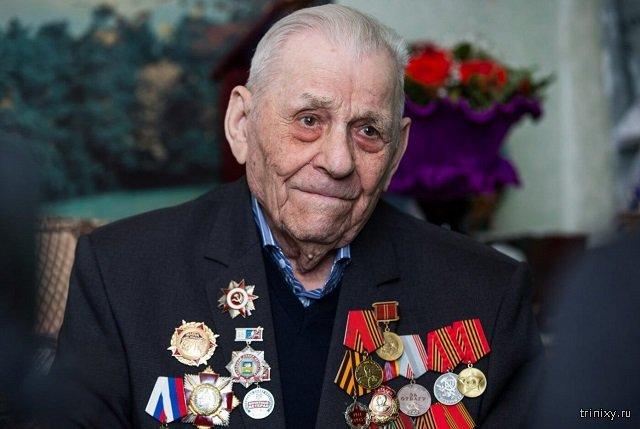 Виктор Волкович, ветеран Великой Отечественной войны, 97 лет
