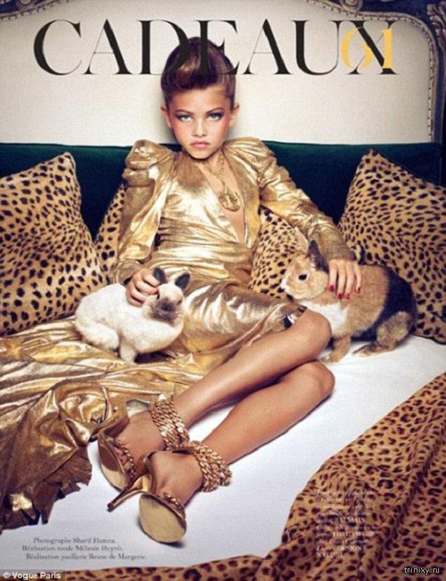 """""""Самая красивая девочка в мире"""" Тилан Блондо выросла и продолжила покорять модельный мир (25 фото)"""
