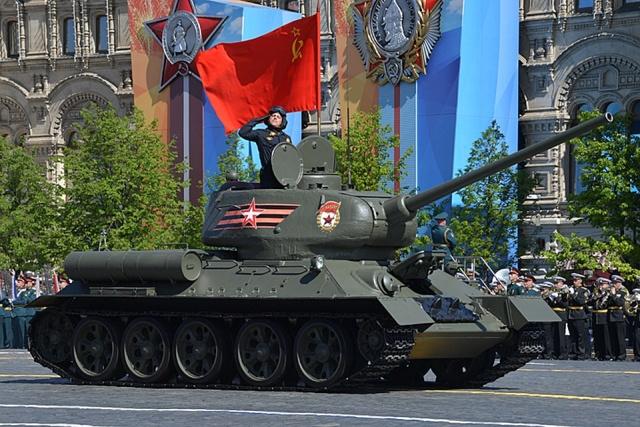 Парад Победы 9 мая 2019 года в Москве
