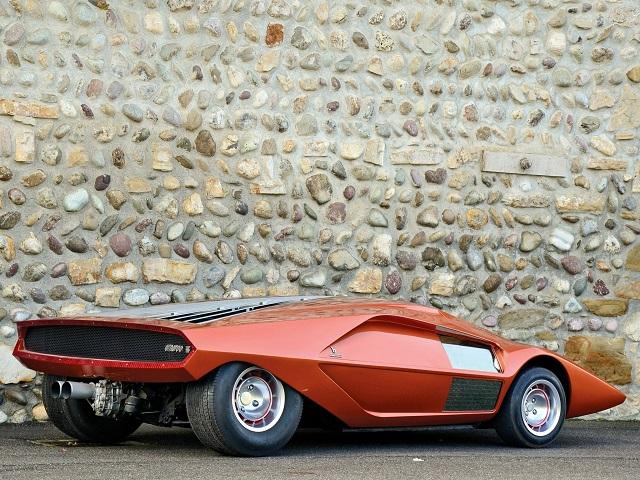 Футуристические автомобили 70-х, которые так и не увидели свет (26 фото)