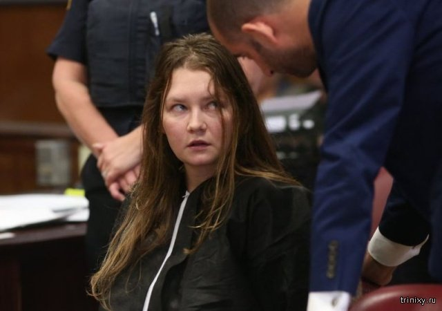 Мошенницу с русскими корнями Анну Сорокину посадили в тюрьму в США