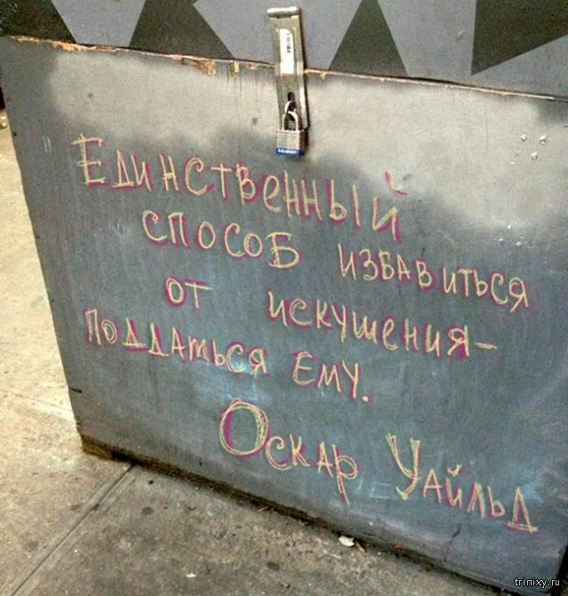 Креативные объявления баров и кафе (15 фото)
