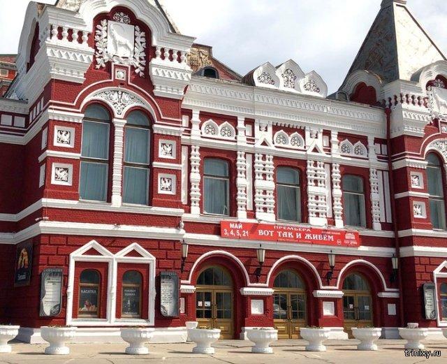 В Самаре обновили драмтеатр, но... (3 фото)