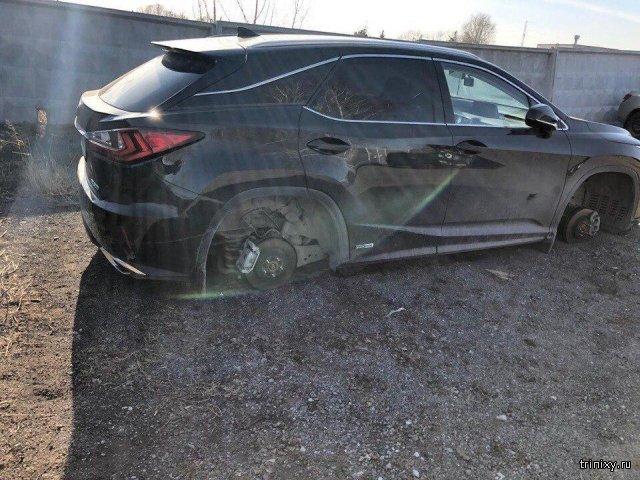 Когда автомобиль остается под охраной на платной стоянке (3 фото)