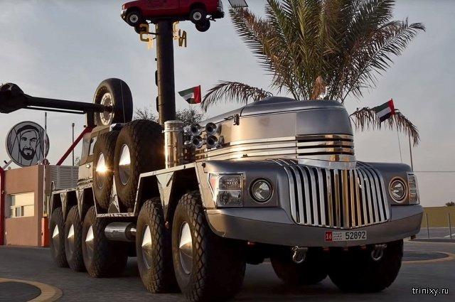 10-колесный внедорожник, созданный для арабского шейха (10 фото)