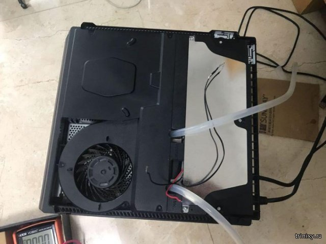 Теперь игровая консоль точно не будет перегреваться (4 фото)