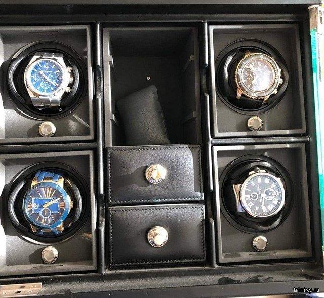 Стоимость элитных часов, которые обнаружили у замгубернатора Ростовской области Сергея Сидаша (2 фото)