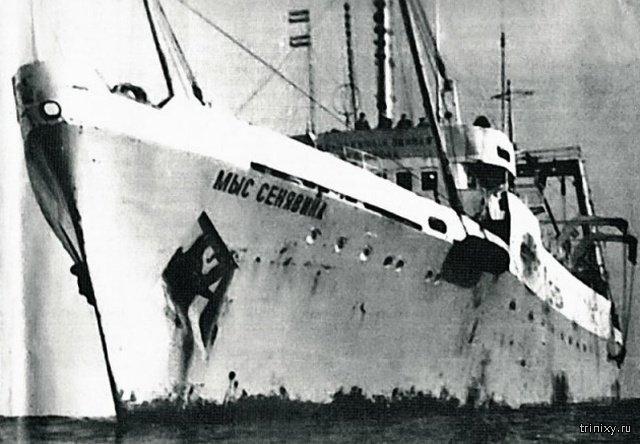 Как советские моряки спасли американских лётчиков в годы холодной войны (11 фото)