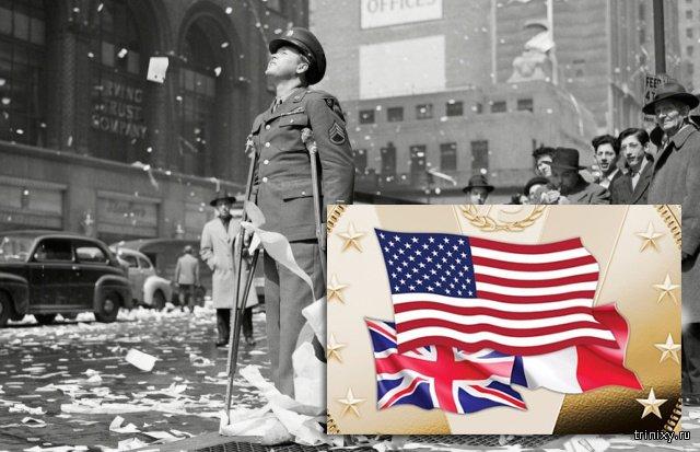 В США сделали юбилейную монету с изображениями стран-победителей во Второй мировой войне без СССР (4 фото)