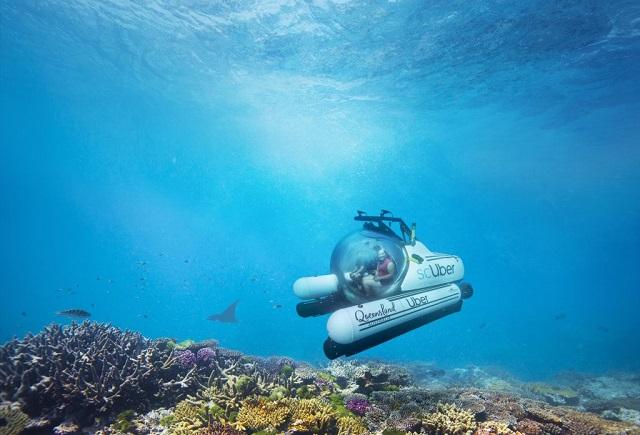 """В Австралии появится """"подводное такси"""" от Uber"""