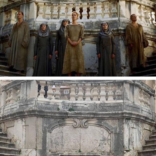 """Hogyan vannak a """"Thrones Game"""" helyszínei a készleten és a valós életben (20 kép)"""