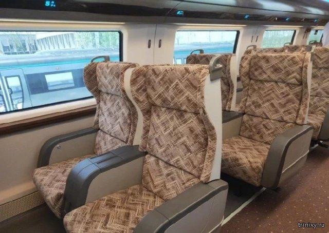 Прототип китайского поезда на магнитной подушке. Он сможет развивать скорость в 600 км/ч (12 фото + видео)
