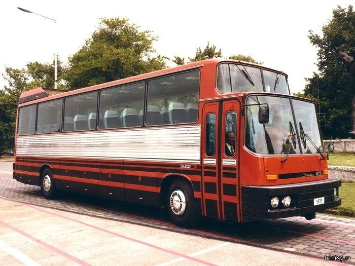 Экспериментальные и редкие модели автобусов Ikarus (10 фото)