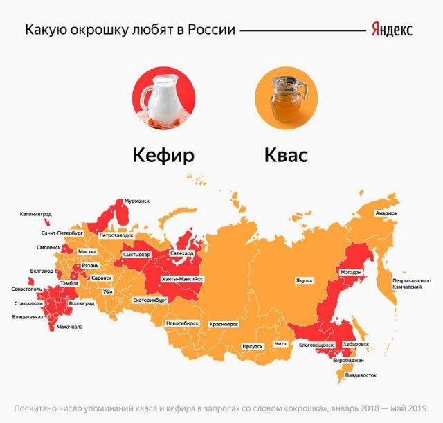 """""""Яндекс"""" назвал победителя в квасово-кефирной войне"""