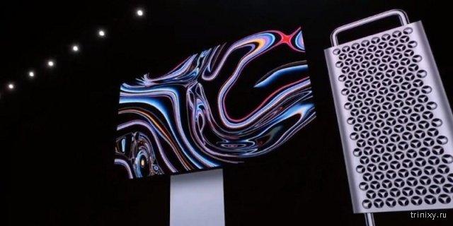 Apple представила монитор Pro Display XDR за 5 тысяч долларов и просит 999 долларов за его подставку (4 фото + видео)