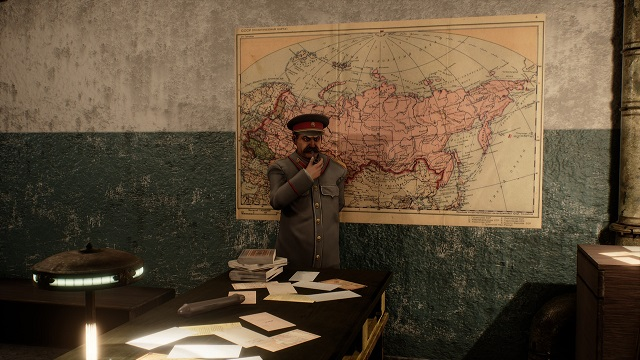В Steam скоро появится эротическая БДСМ-игра со Сталиным (4 картинки)