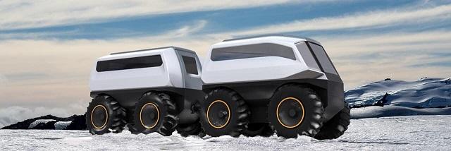 Российская компания Volgabus разработала новый беспилотный вездеход (3 фото)