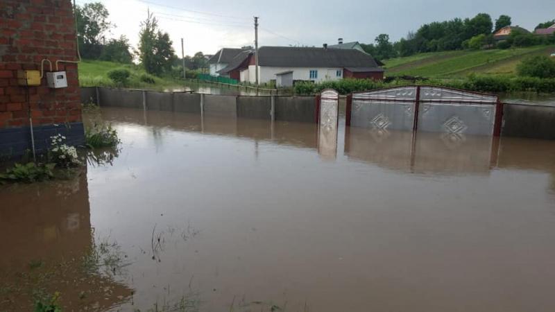 Мощное наводнение под Тернополем