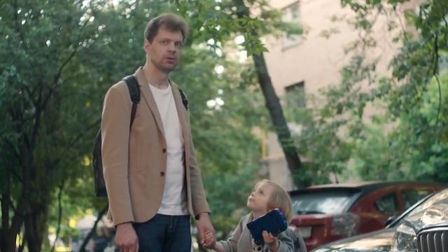 Забавный короткометражный фильм, в котором дети поменялись ролями с родителями
